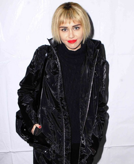 Miley Cyrus Latest Hair to Make A Point