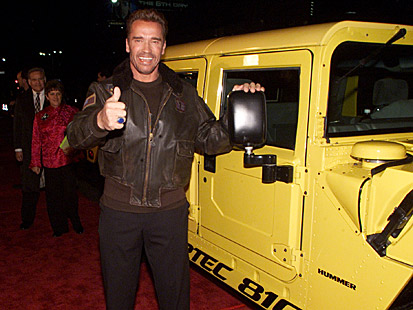Arnold Schwarzenegger car photos