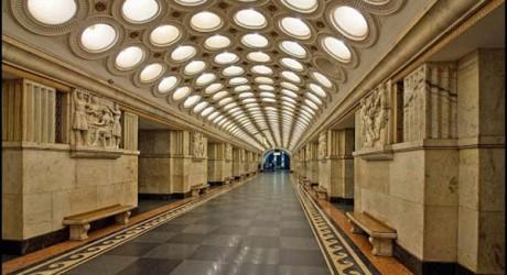 Moscow Lavish and Stunning Metro Station