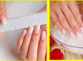Doing French Manicure At Home
