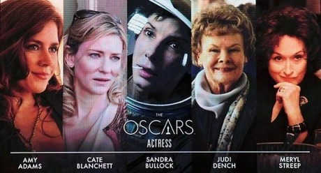 Best Actresses Nomination List for 86th Oscar 2014