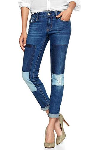 Flattering Plus-Size Denim Jeans Pics
