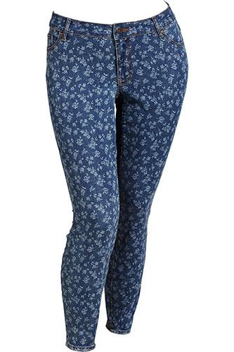 Flattering Plus-Size Denim Jeans