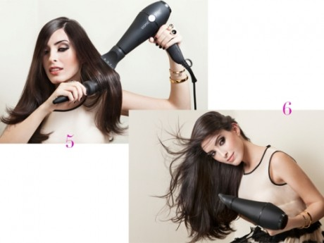 How to get the perfect blow dry