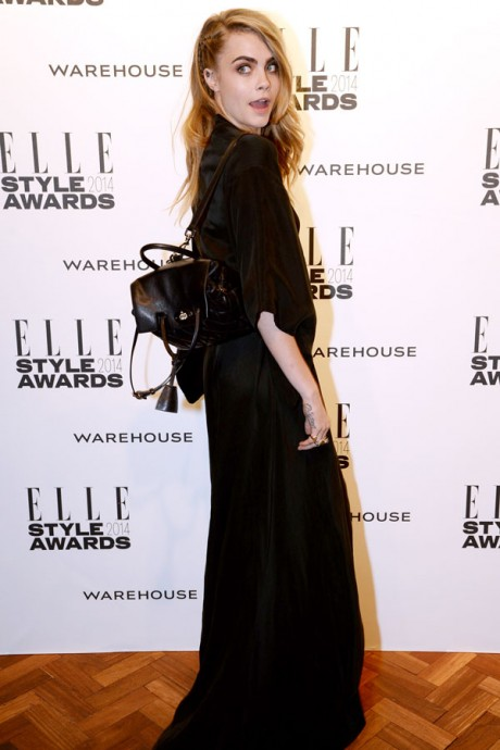 Cara Delevingne's Red-Carpet Look Packs A Surprise