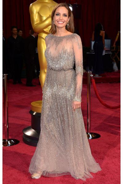 Angelina Jolie best dress From The Oscars 2014