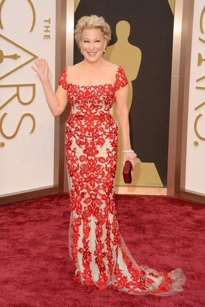 Bette Midler best dress From The Oscars 2014