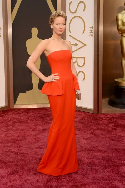 Jennifer Lawrence best dress From The Oscars 2014