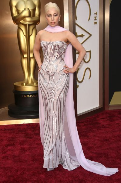 Lady Gaga best dress From The Oscars 2014