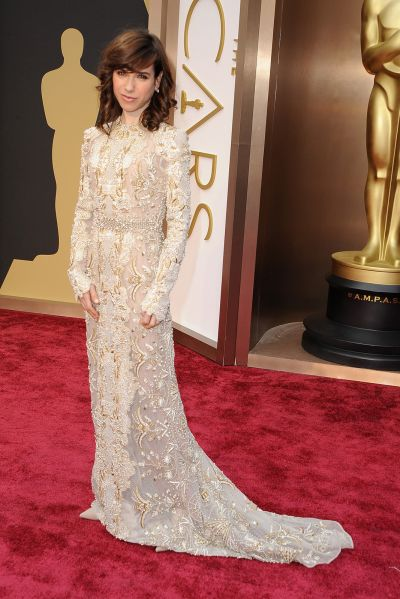 Sally Hawkins best dress From The Oscars 2014