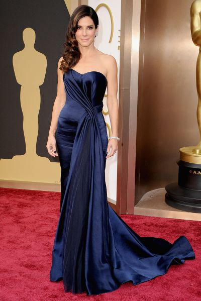 Sandra Bullock best dress From The Oscars 2014