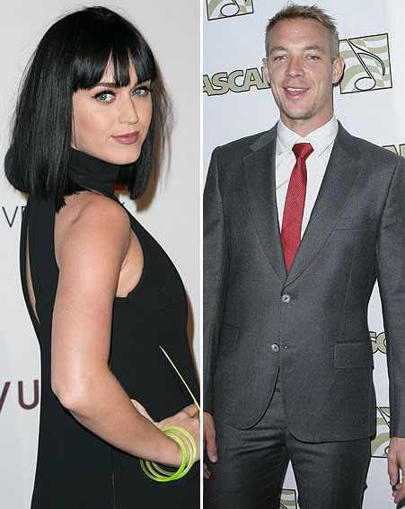 Katy Perry Goes on Date with Diplo