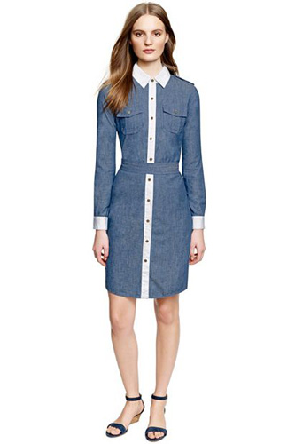 Denim Dresses in Pretty and Elegant Styles