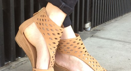 Cut-Out Shoe Trend for Spring Less at Off Broadway Shoe Warehouse
