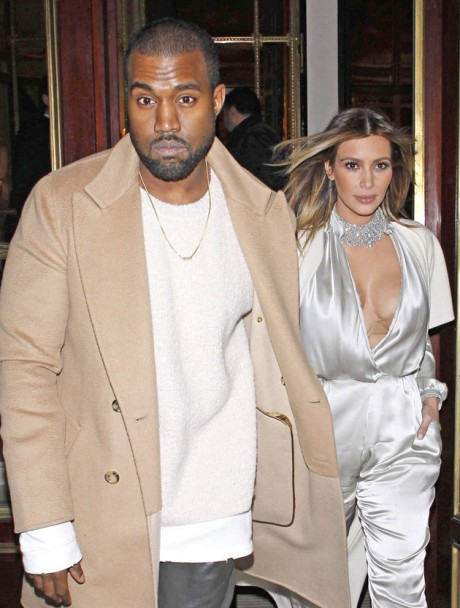 Kim Kardashian and Kanye West Pictures