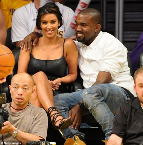 Kim Kardashian and Kanye West Images