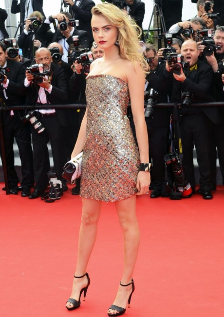 Cara Delevingne on Red Carpet Images