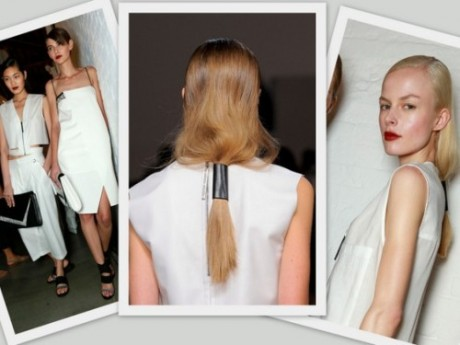 Get DIY Hair Helmut Lang Spring/Summer 2014