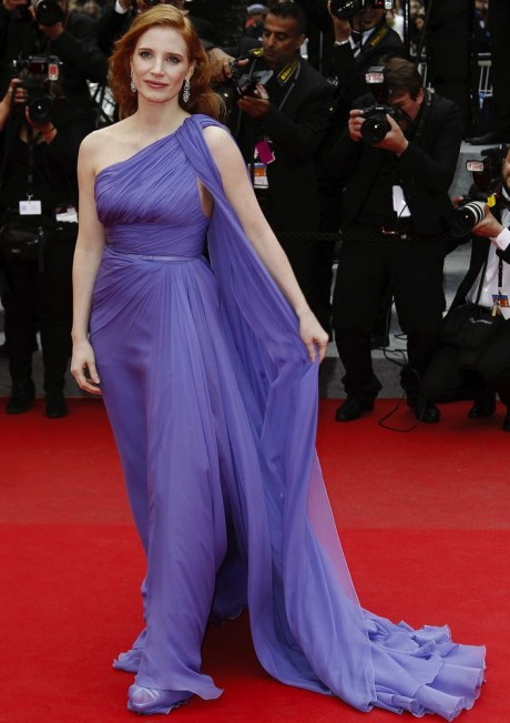 Jessica Chastain Hot Photos from 67th Cannes Film Festival 2014