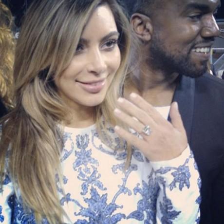 Kim Kardashian and Kanye West Photos