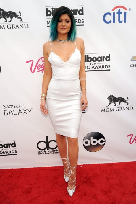 Kylie Jenner Hot white dress photos