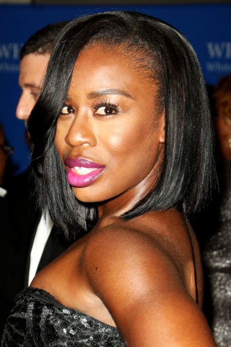 Uzo Aduba Looks Stunning & Joyful On Red Carpet