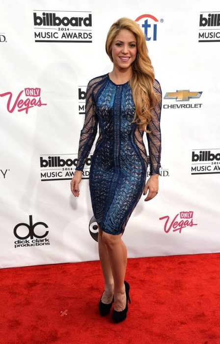 Shakira Hot Pictures from Billboard Music Awards 2014