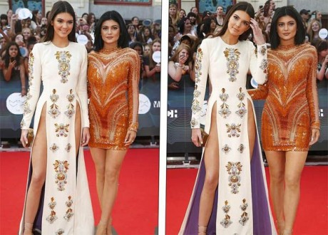 Kendall Jenner dressed to shock at MuchMusic Awards