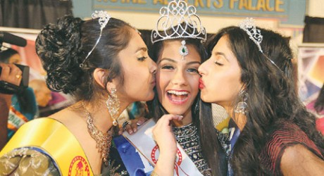 Miss Monica Gill wins Miss India Title 2014