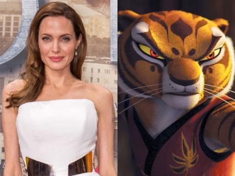 Angelina Jolie as Tigress