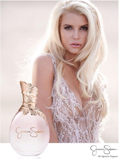 Jessica Simpson Hot Poster of Fragrance