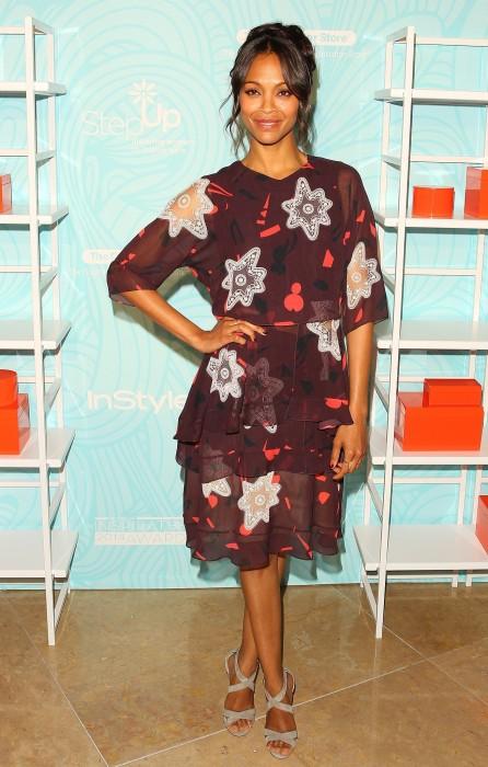 Zoe Saldana's Laid-Back, Healthy Life