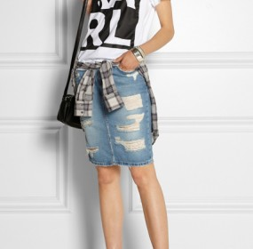 Jeans Denim Skirts Pics