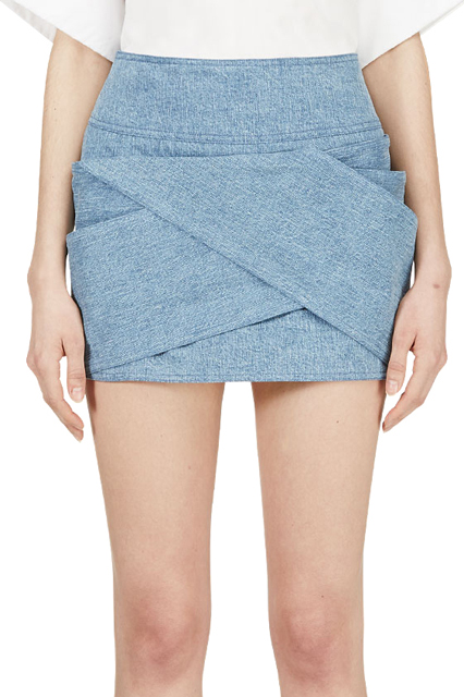 Denim Skirts Pics