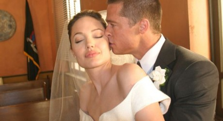 Angelina and Brad Wedding Pics