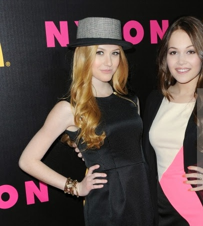 Demi Lovato and Katherine McNamara