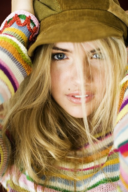 Kate Upton's First Ever Photo Shoot