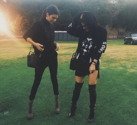 Kim Kardashian, steals Kylie Jenner's Bikini for fashion shoot