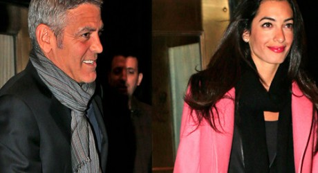George Clooney's ex-girlfriend Elisabetta Canalis 'happy' for him and Amal