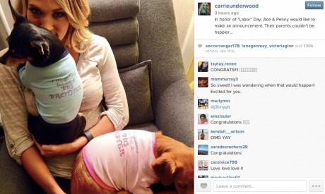 Carrie Underwood Pregnancy unveiled