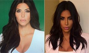 Kim Kardashian Looks Attractive with Short Hair
