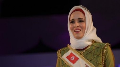 Fatma Ben Guefrache wins Title of Miss Muslimah World 2014