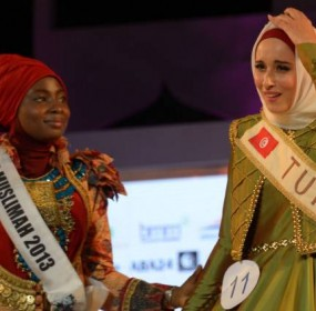Fatma Ben Guefrache wins Title of Miss Muslimah World 2014 Pictures