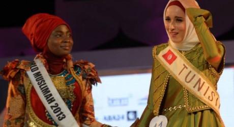 Fatma Ben Guefrache wins Title of Miss Muslimah World 2014 Pictures