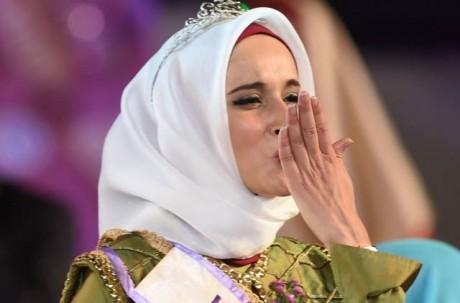 Fatma Ben Guefrache wins Title of Miss Muslimah World 2014 Pics