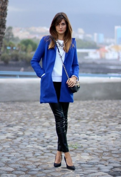 Beautiful in Navy Blue