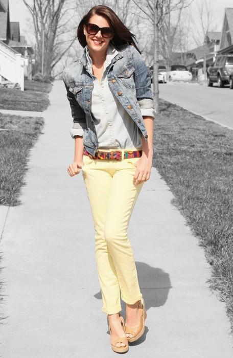 Lovely in Light Yellow.