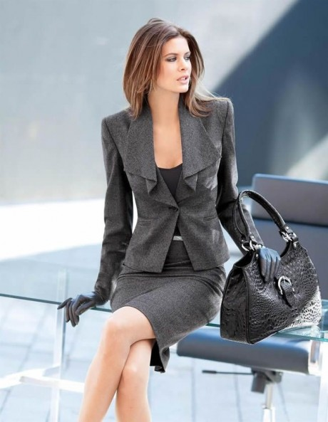 TRY A SKIRT SUIT