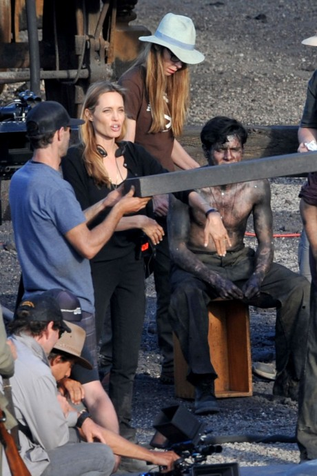 Angelina Jolie new film Unbroken on anti violence subject