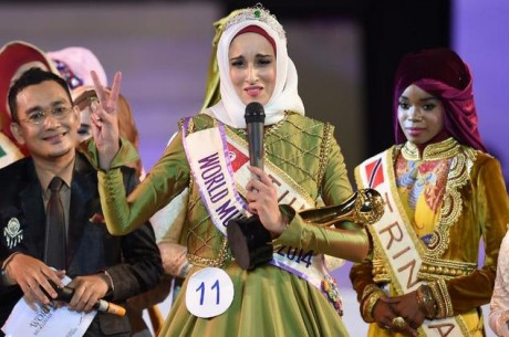 Fatma Ben Guefrache wins Title of Miss Muslimah World 2014 Wallpapers